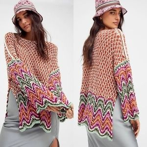 NWT Free People Heatwave Pullover